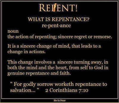Repentance defined