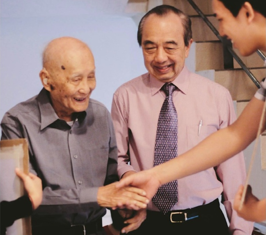 Elder Ang Chui Lai (First from left)