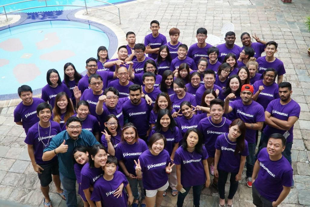 Exponential Young Adults Camp in Taiping Golf Resort