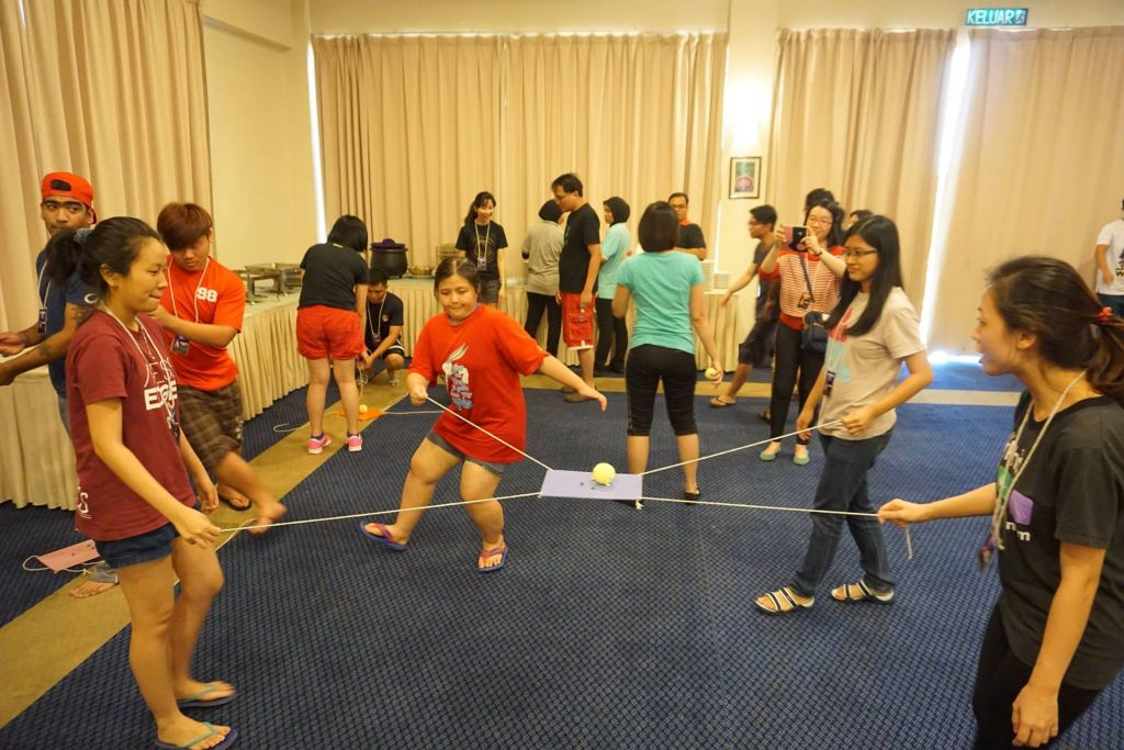 Game session of the Exponential Camp at the Taiping Golf Resort