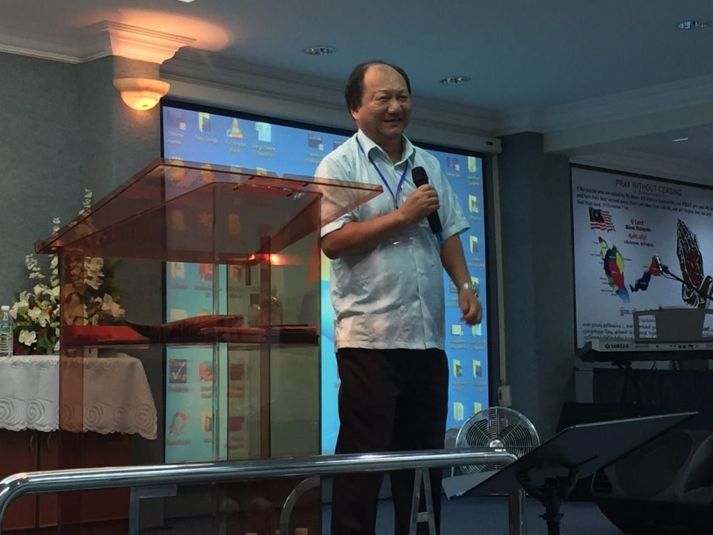 Pastor Bernard Teh, founder and chairperson of PAAG