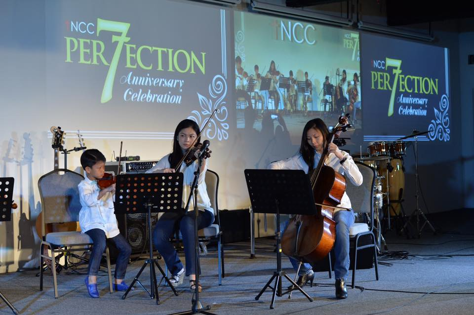 Another wonderful performance by musicians of all ages in tNCC