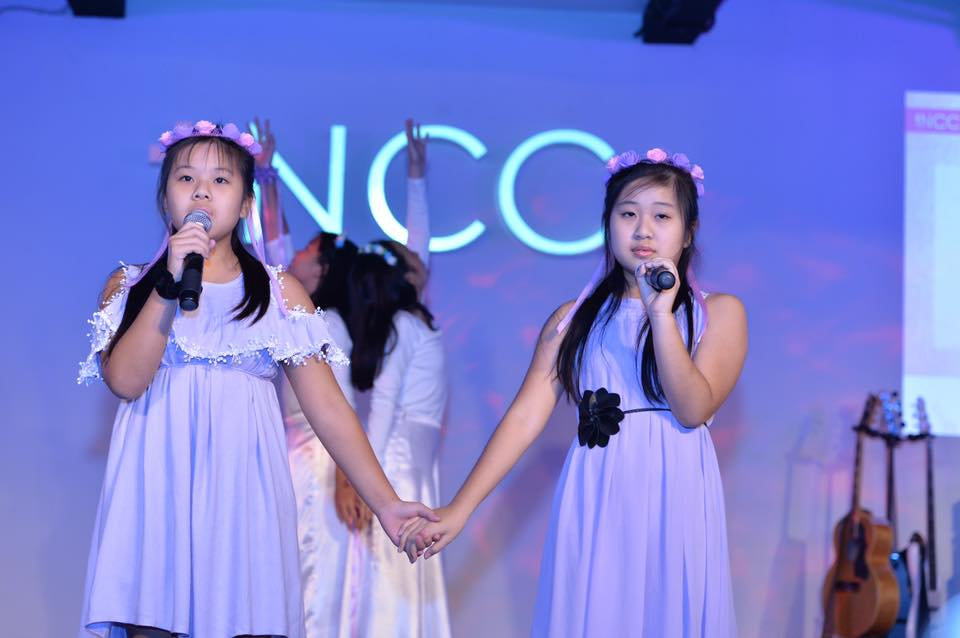 A performance of singing and dancing by the children of tNCC