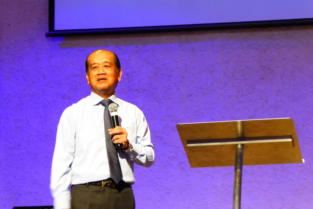 Pastor Vincent Leoh of GTPJ