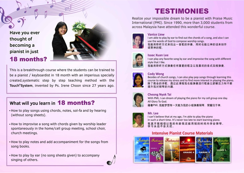Praise Music International's Course Preview Coming to KL in 2 Weeks